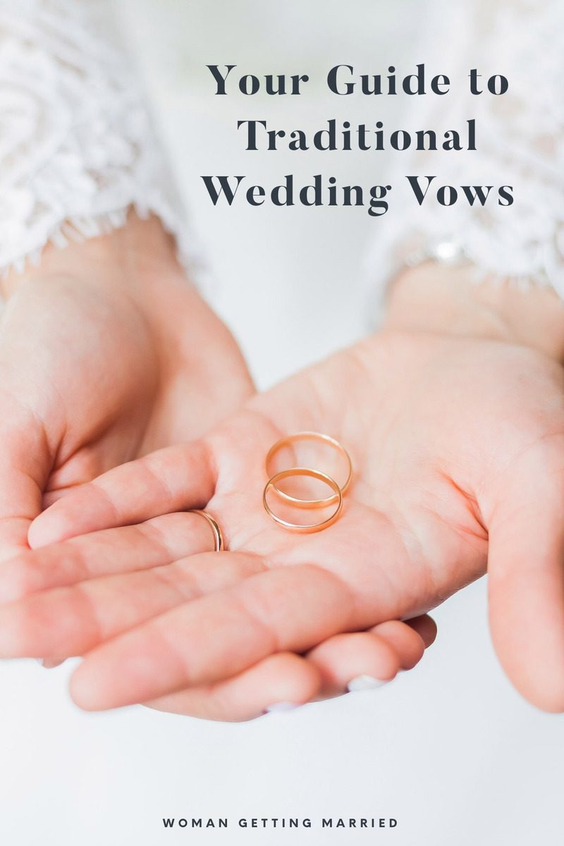 How to write heartfelt traditional wedding vows
