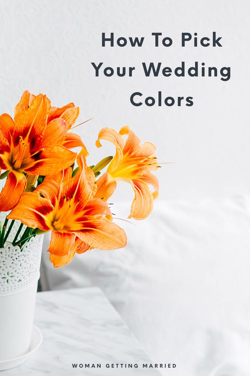 Trying to decide on a palette for your wedding? This is the best way to come up with inspiration for your wedding colors
