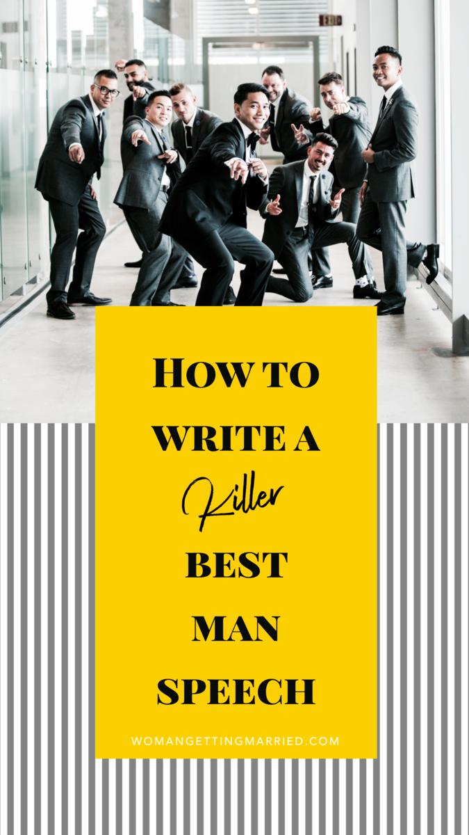 writing best man speech