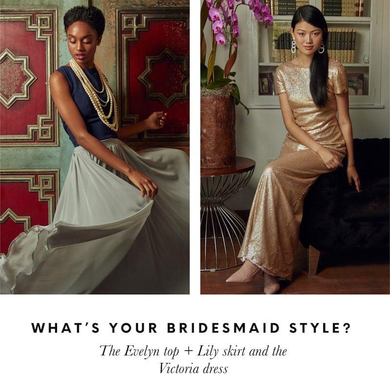 bridesmaid dresses bustle and veil