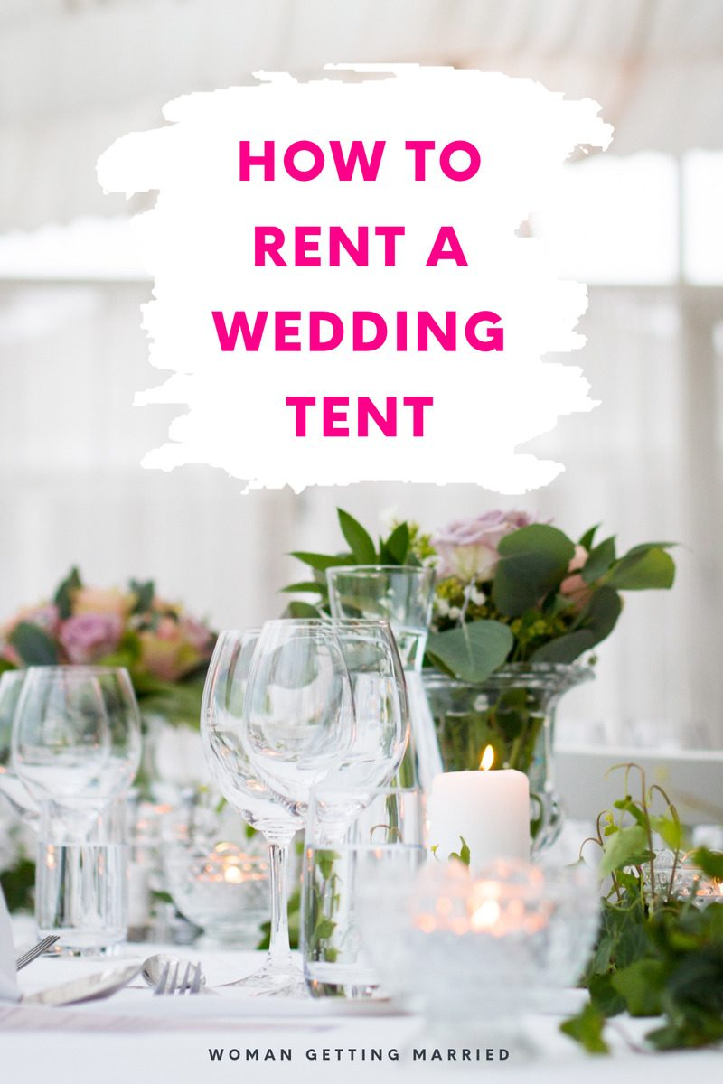 Looking to rent a wedding tent? Here's what you need to know