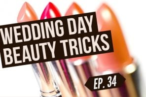 wedding hair and makeup tricks