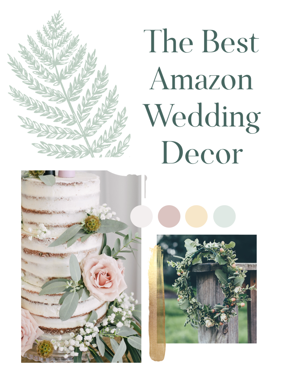 where to find amazon wedding decor