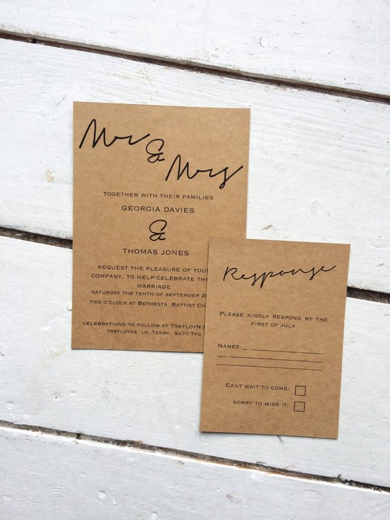 Wedding 101 Your Guide To The Different Types Of Wedding Invitations
