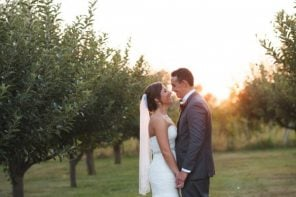 Michelle & Connor's Winery Wedding