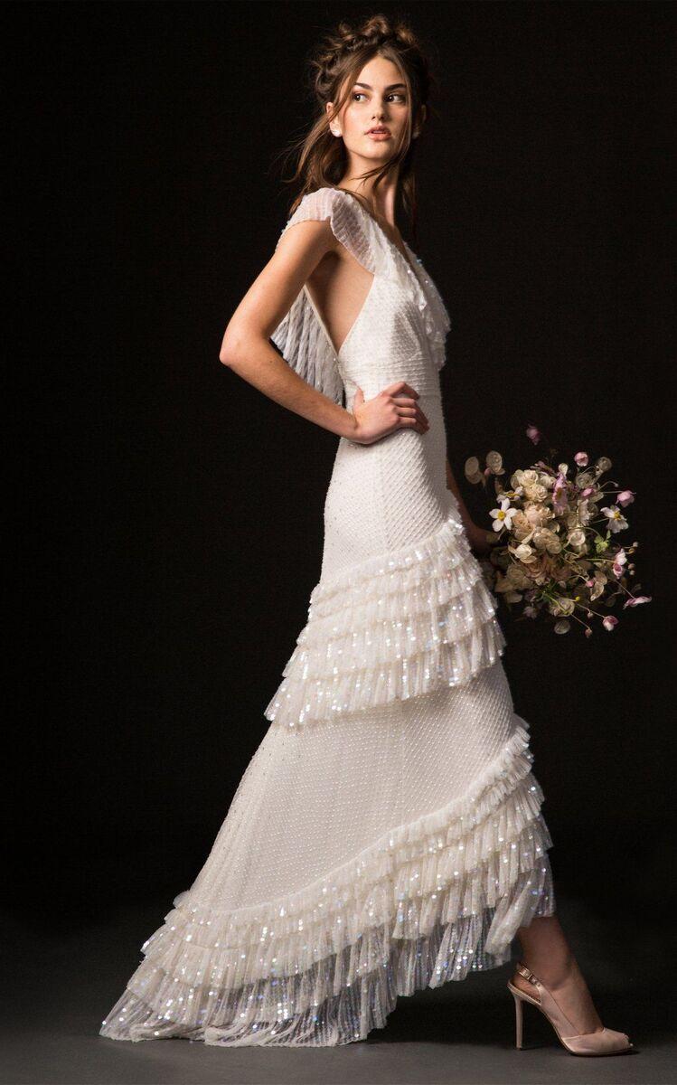 21 beach wedding dresses you'll love