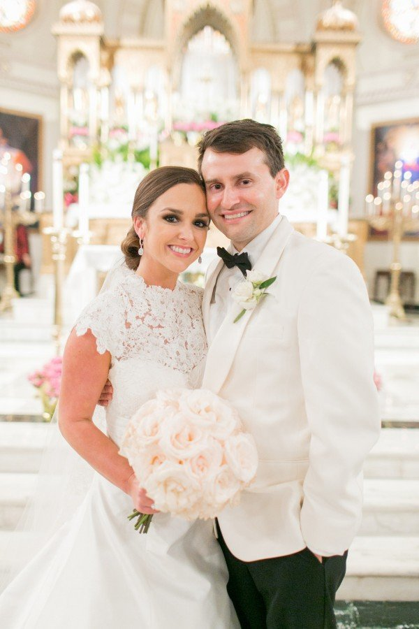 Caroline & Joe's Chic New Orleans Wedding