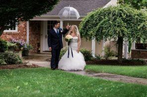Haley & Jon's Perfect Rainy Day Wedding