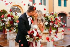 Erik & Alex's Romantic, Italian-Inspired Wedding