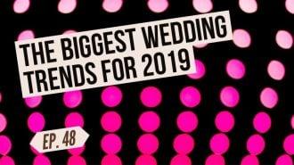 best wedding trends