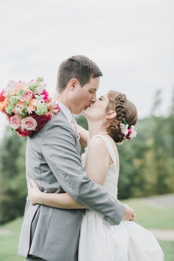 Michael & Nicole's Colorful, Personalized Wedding