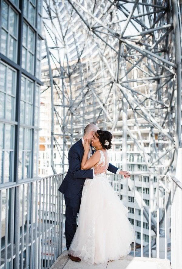 Stephanie & Mike's San Diego Public Library Wedding
