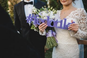 how to find the perfect wedding hashtag