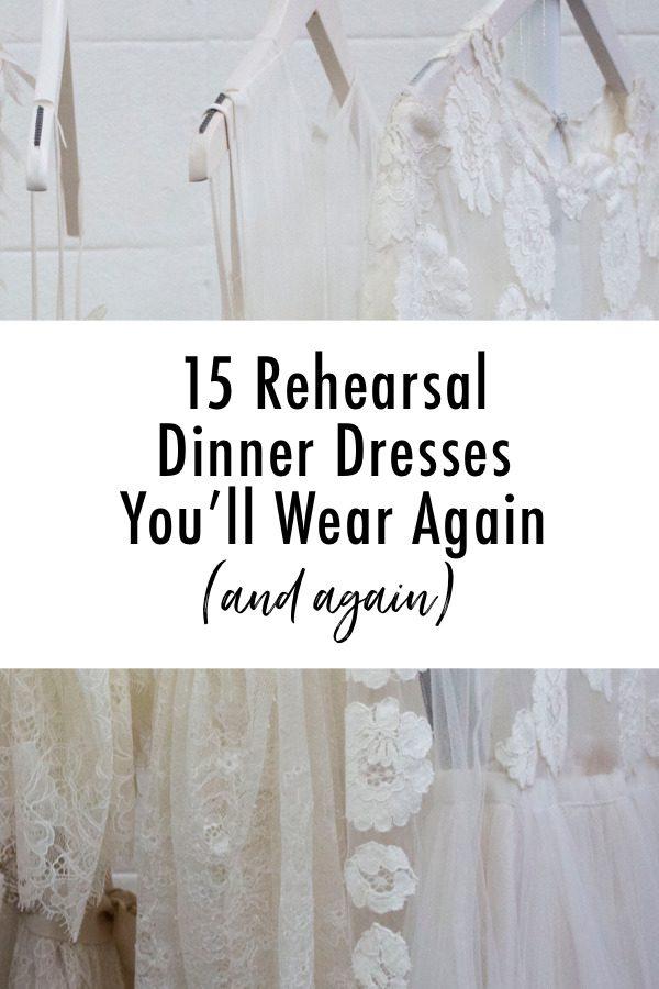 The Best Rehearsal Dinner Dresses