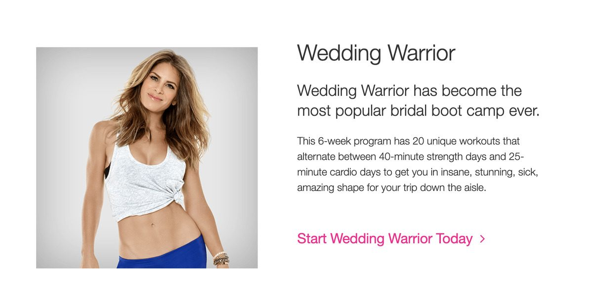 the best wedding fitness apps