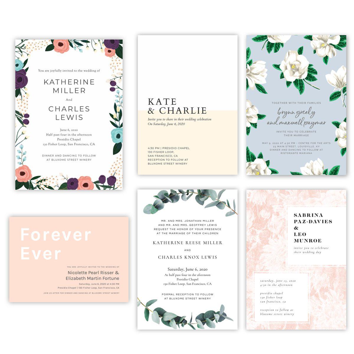 best spring wedding invitations