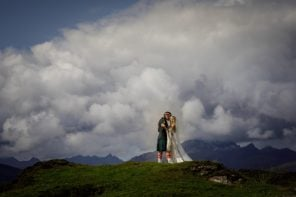 Valerie and Aaron's Castle Wedding in Scotland