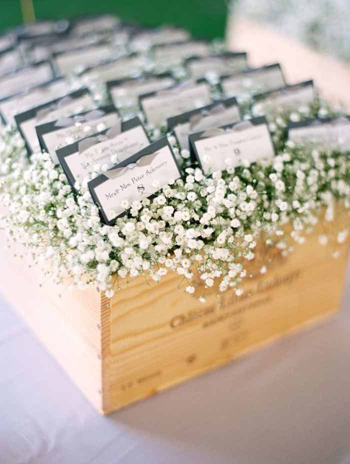 Escort Card Arrangement
