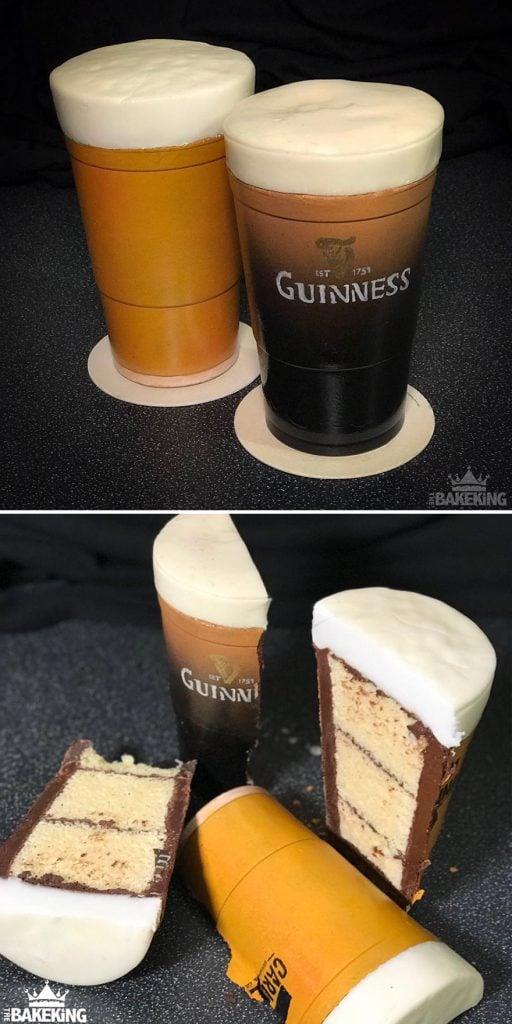 illusion wedding cake