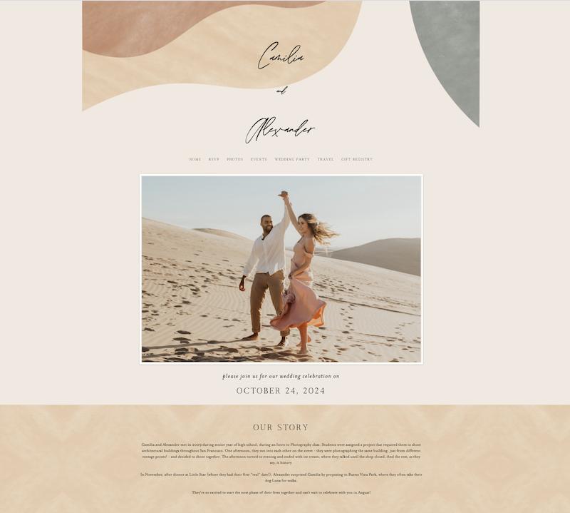 Name wedding examples domain website Wedding Business