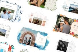 joy wedding themes