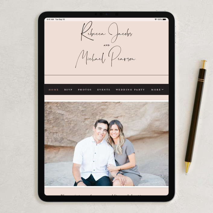 minted wedding site
