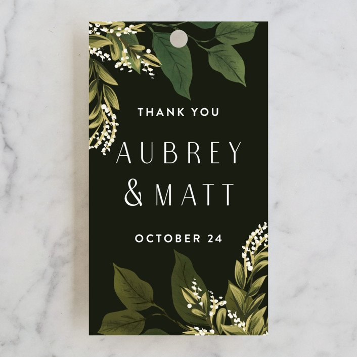 minted favor tags